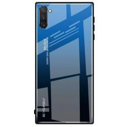 Etui na telefon Samsung Galaxy Note 10 GRADIENT szklane granat